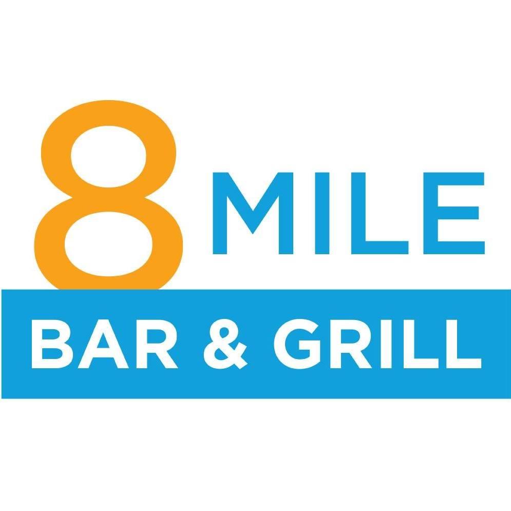 8 Mile Bar & Grill logo